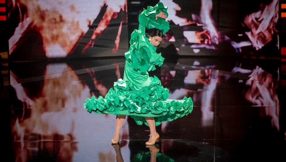 La coreografía de Rocío Dusmet
