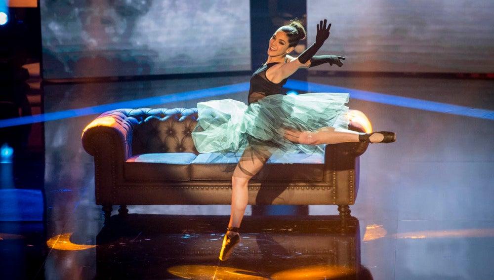 La coreografía de Claudia Rodríguez