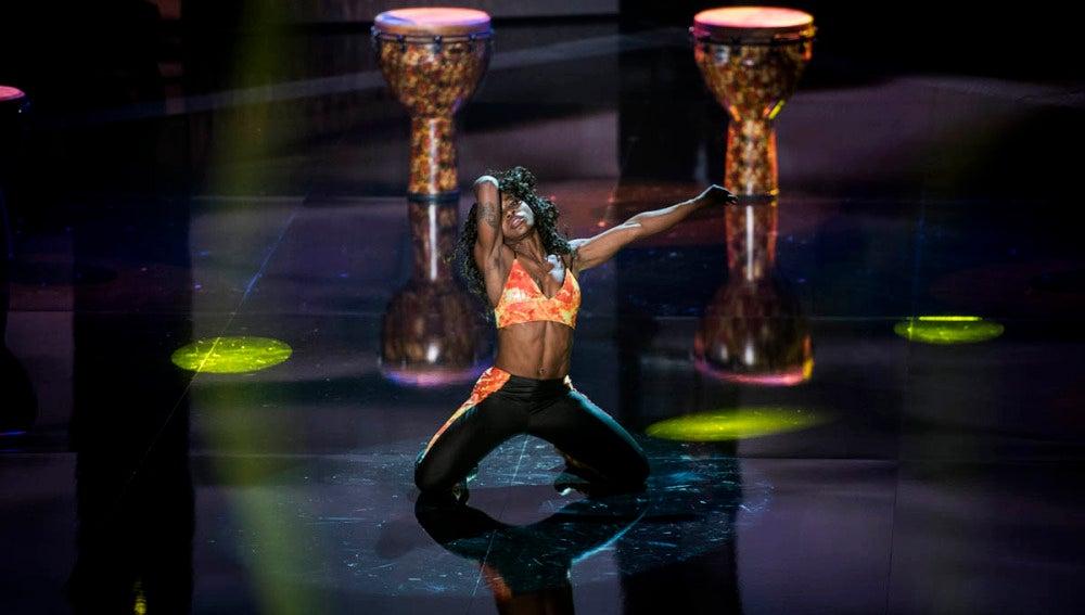 La coreografía de Sonia Ebiole