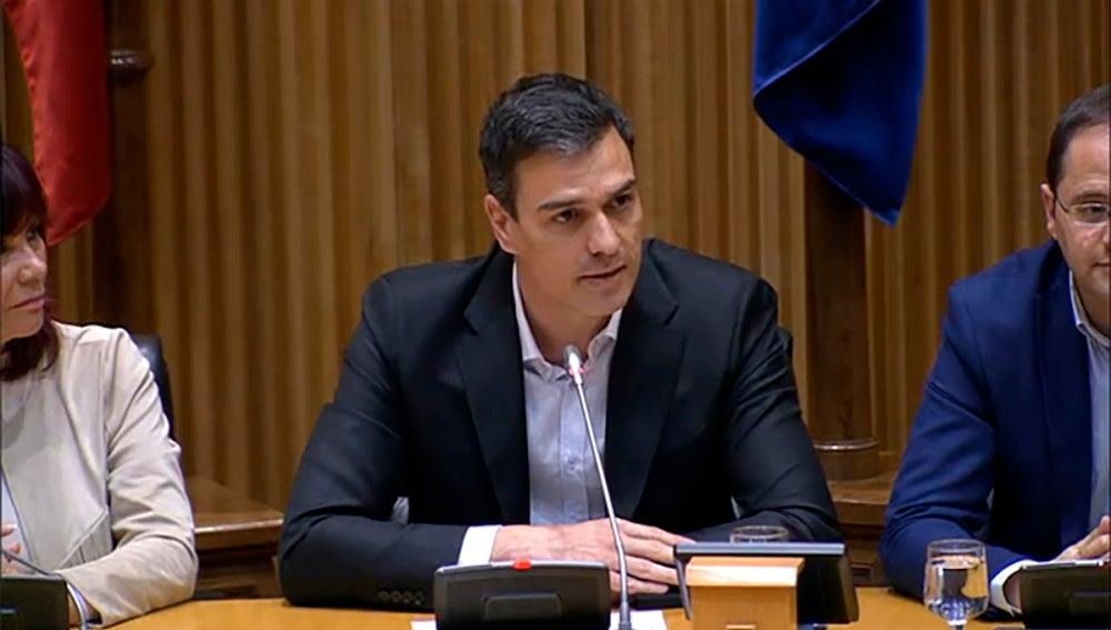 Pedro Sánchez, el secretario general del PSOE