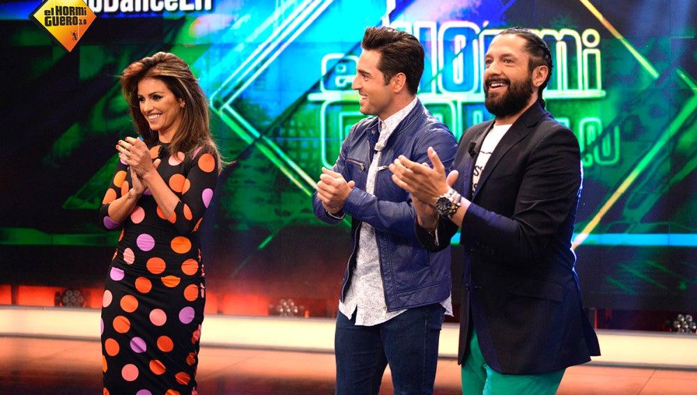 Mónica Cruz, Bustamante y Rafael Amargo en 'El Hormiguero 3.0'