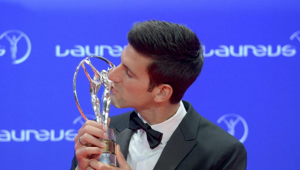 Novak Djokovic besa su premio Laureus