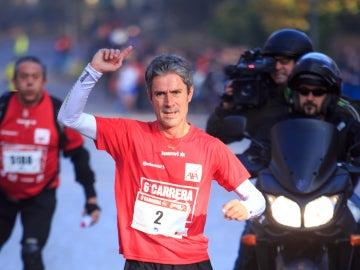 Martín Fiz consigue su tercera marathon en Boston