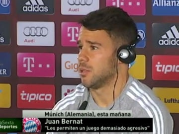 Bernat, del Bayern de Múnich