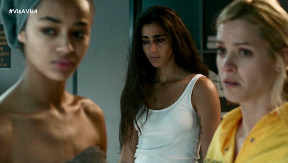 Saray y Macarena se enteran de lo que le pasó a Rizos