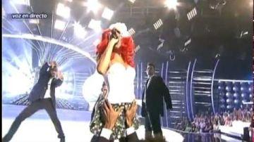 Angy se desmelena con Rihanna