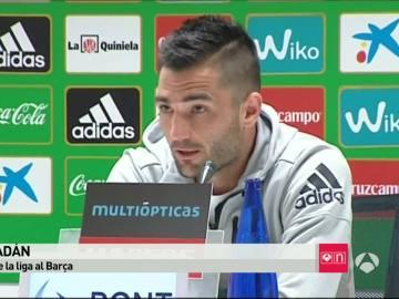Antonio Adán en rueda de prensa