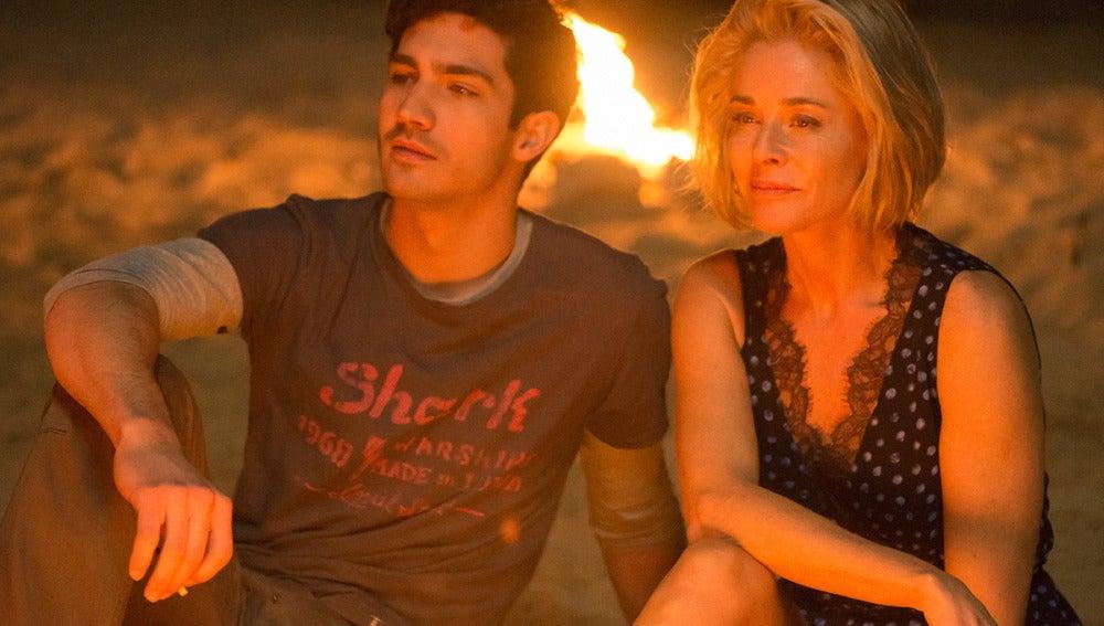 Carlos y Claudia en la playa de Bangkok, Tailandia