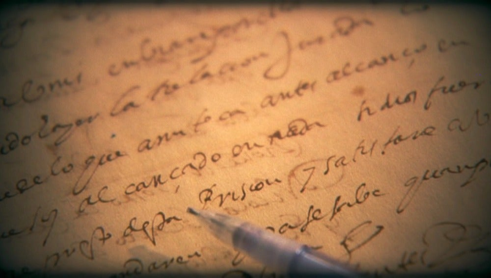 Caligrafía de Cervantes