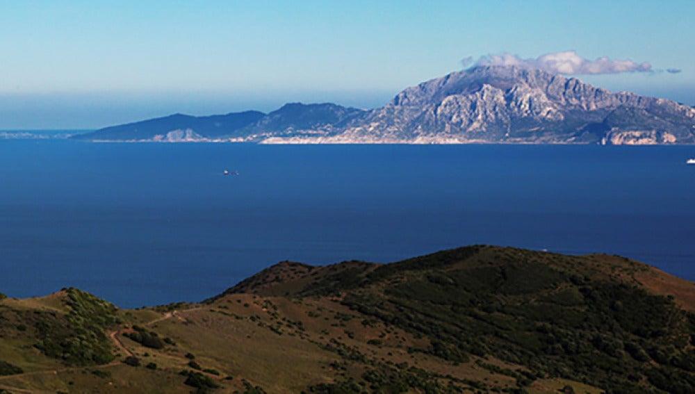 Vista del Estrecho de Gibraltar