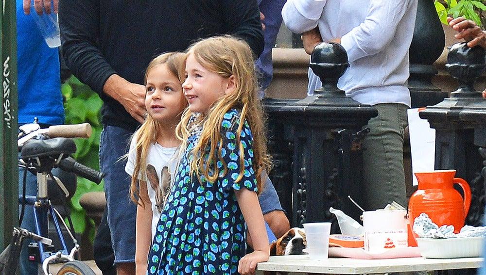 Sarah Jessica Parker con sus hijas Marion and Tabitha
