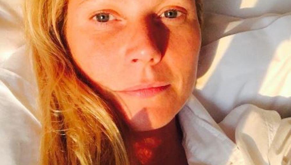 Gwyneth Paltrow, sin maquillaje