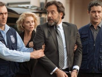 Luis es detenido por la policía española
