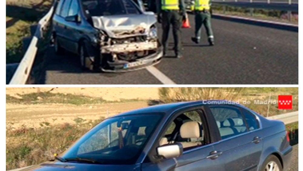 Vehículos implicados en el accidente