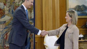 El Rey ha recibido a Ana Oramas, portavoz de Coalición Canaria