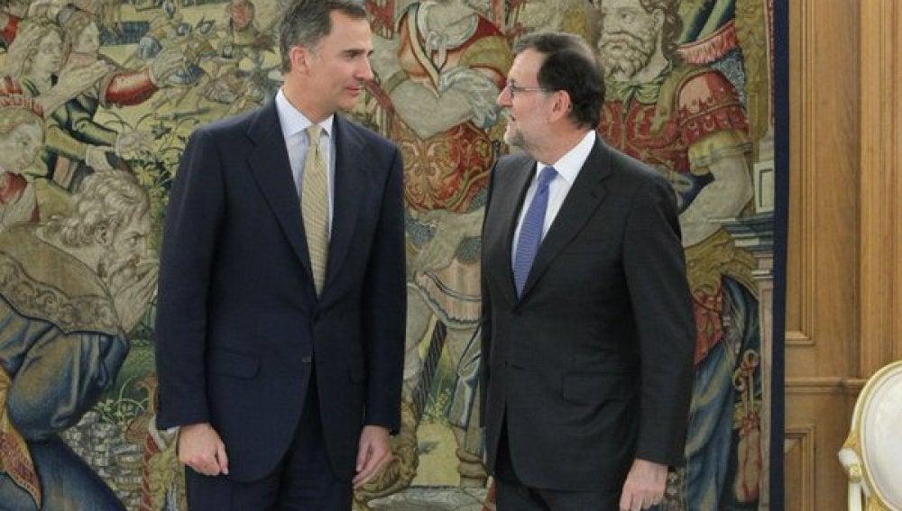 El Rey cierra la ronda de consultas con Mariano Rajoy