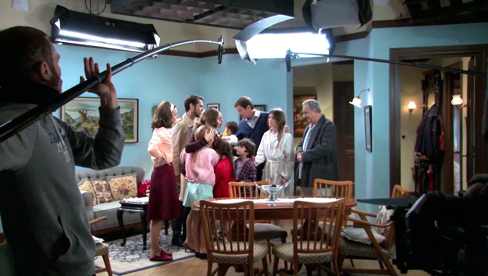 El Making of de la despedida de Leonor y Miguel