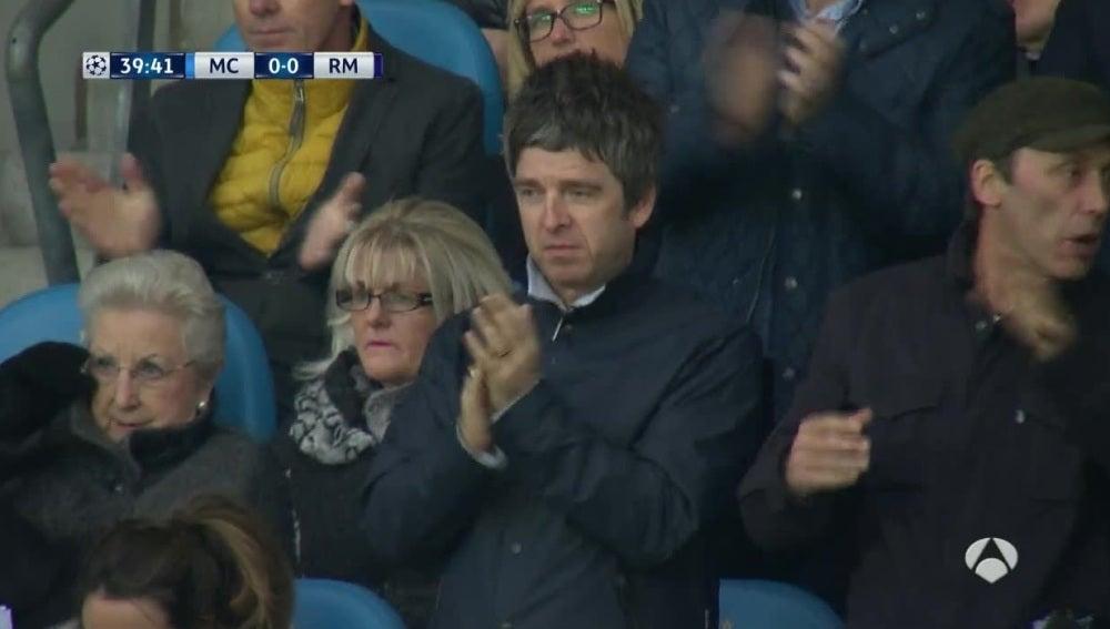 Noel Gallagher, durante el City-Madrid