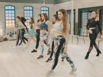 Las bailarinas de Top Dance