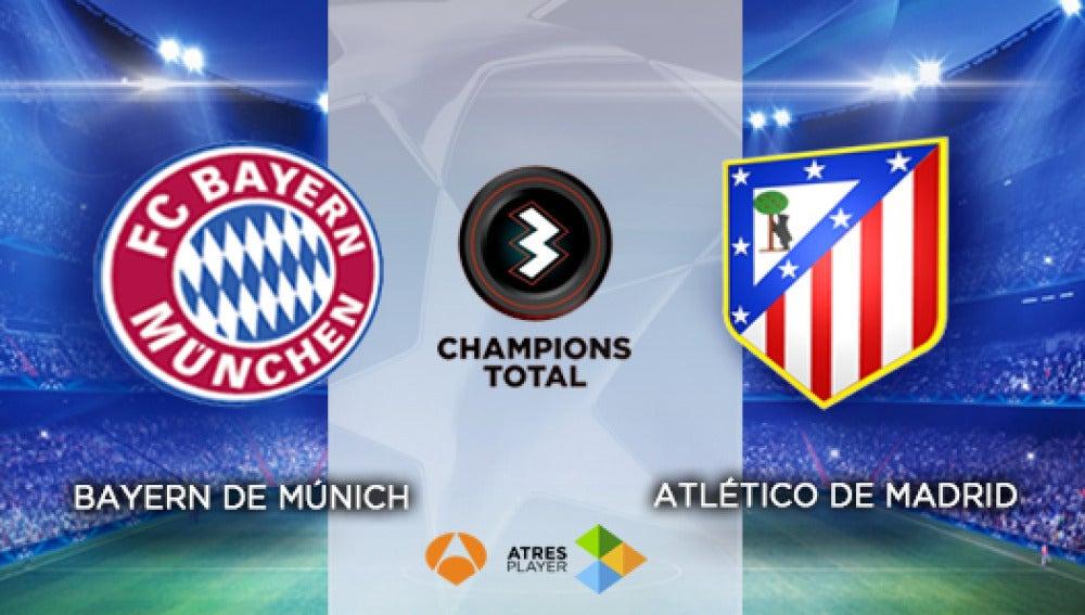 Bayern-Atlético en Antena 3 y Atresplayer