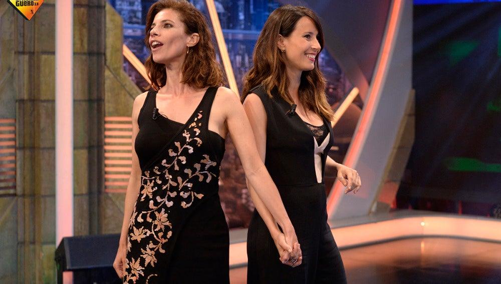 Maribel Verdú y Bárbara Goenaga en 'El Hormiguero 3.0'