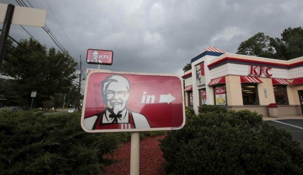 Un restaurante de la cadena KFC