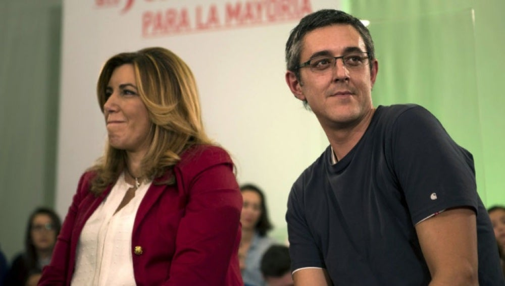Susana Díaz y Eduardo Madina