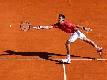 Novak Djokovic en Montecarlo
