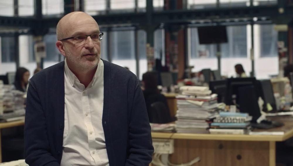 El periodista Manuel Vilasero