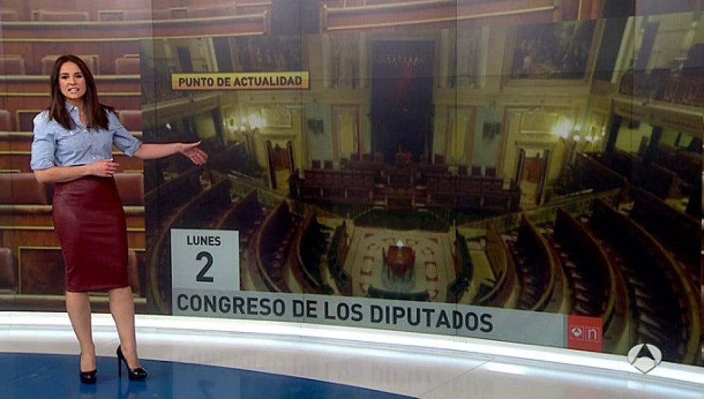 Imagen del Parlamento vacío