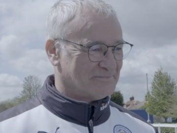 Ranieri, técnico del Leicester