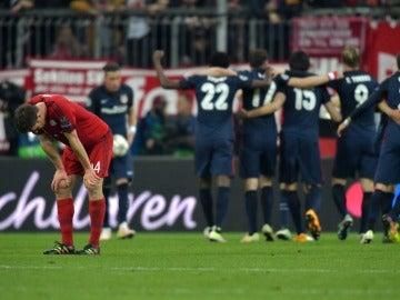 Contraste de sentimientos, unión y éxito atlético vs la soledad y el fracaso del Bayern