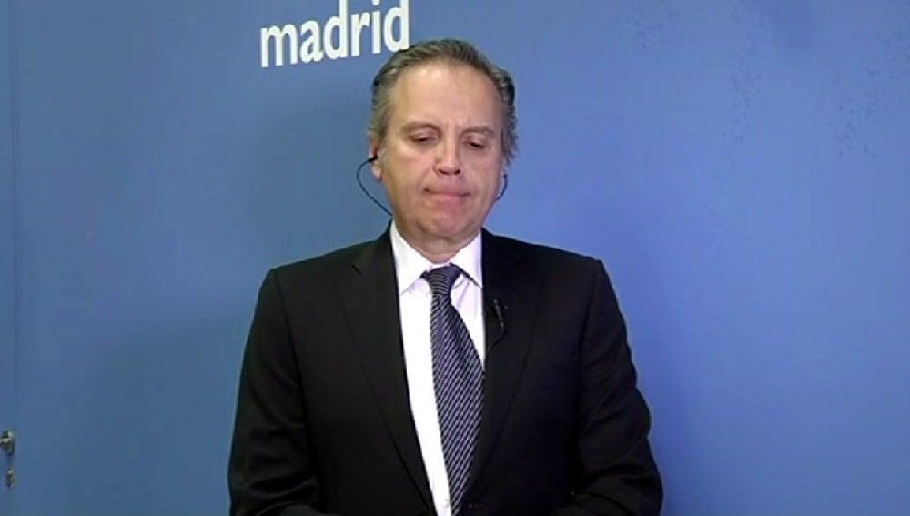 Antonio Miguel Carmona, durante una entrevista en Espejo Público