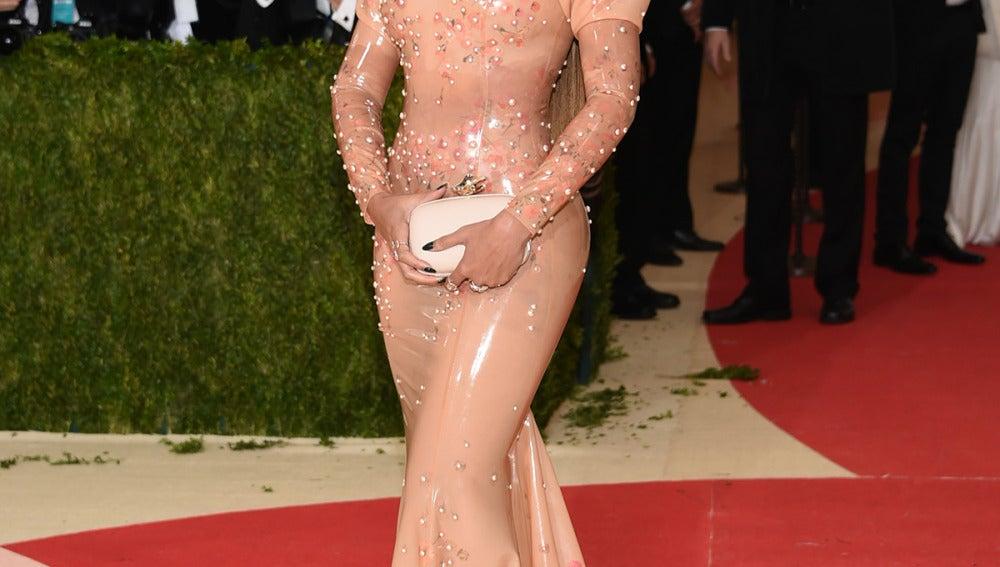 Beyoncé en la Gala MET 2016