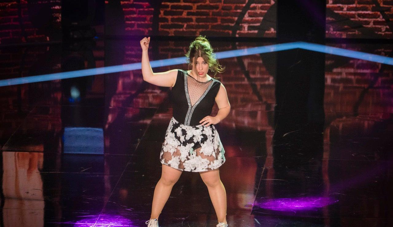 Laura Recamal en 'Top Dance'
