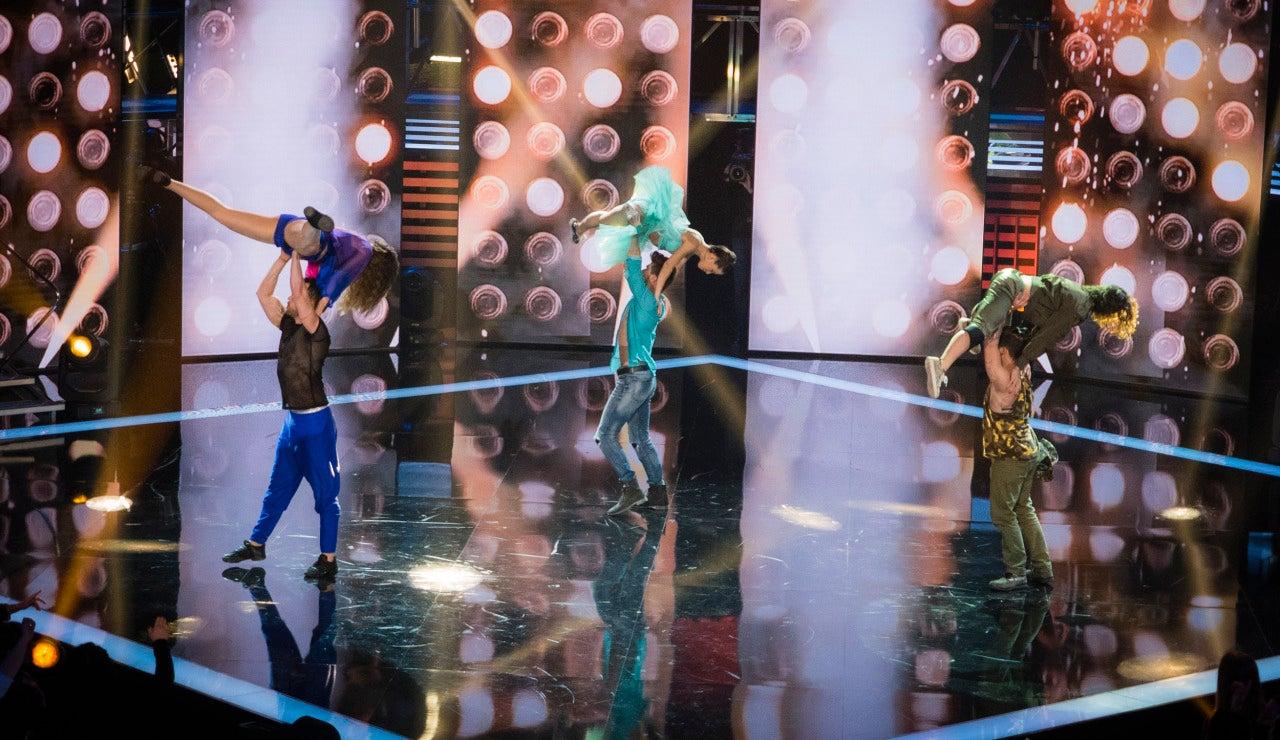 Segunda gala de 'Top Dance'