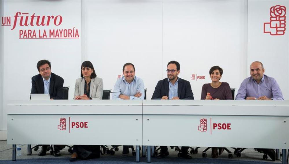 El Comité Electoral del PSOE, en su primera reunión