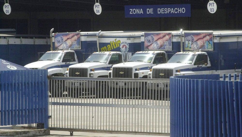 Camiones de cerveza Polar