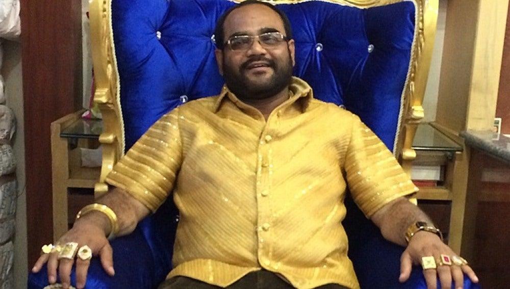 Camisa de oro más cara del mundo