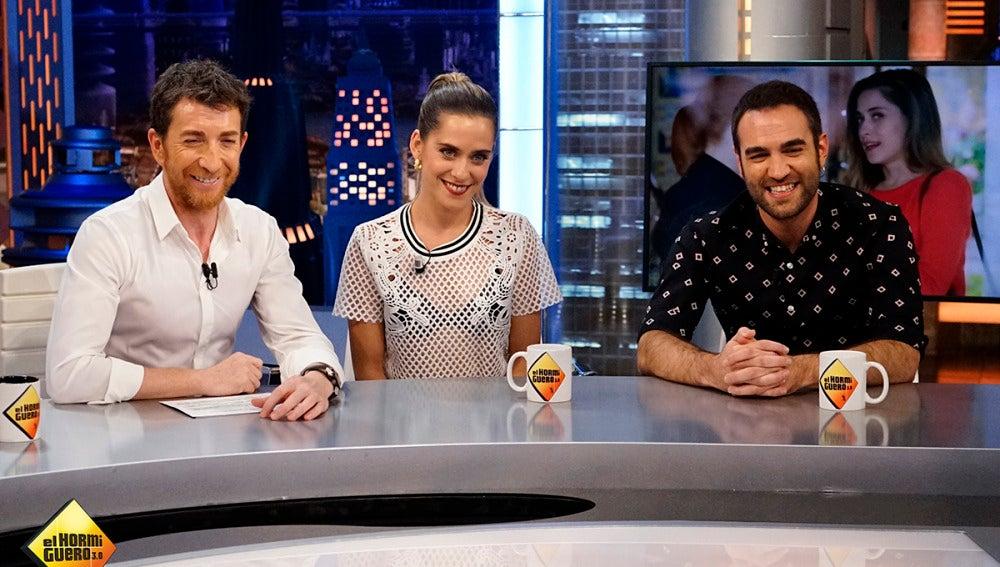 Jon Plazaola y María León en 'El Hormiguero 3.0'