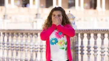 Paula Rodríguez es Rosita en 'Allí Abajo'