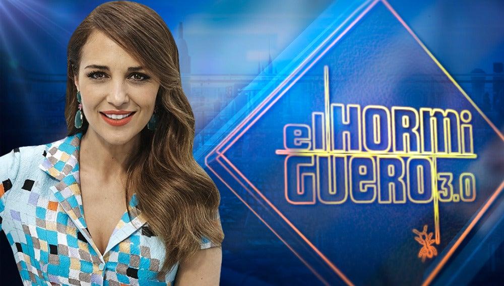 Paula Echevarría en 'El Hormiguero 3.0'