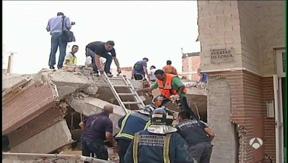 Frame 14.688735 de: El Gobierno de Murcia destina a Lorca 12 millones en el quinto aniversario del terremoto