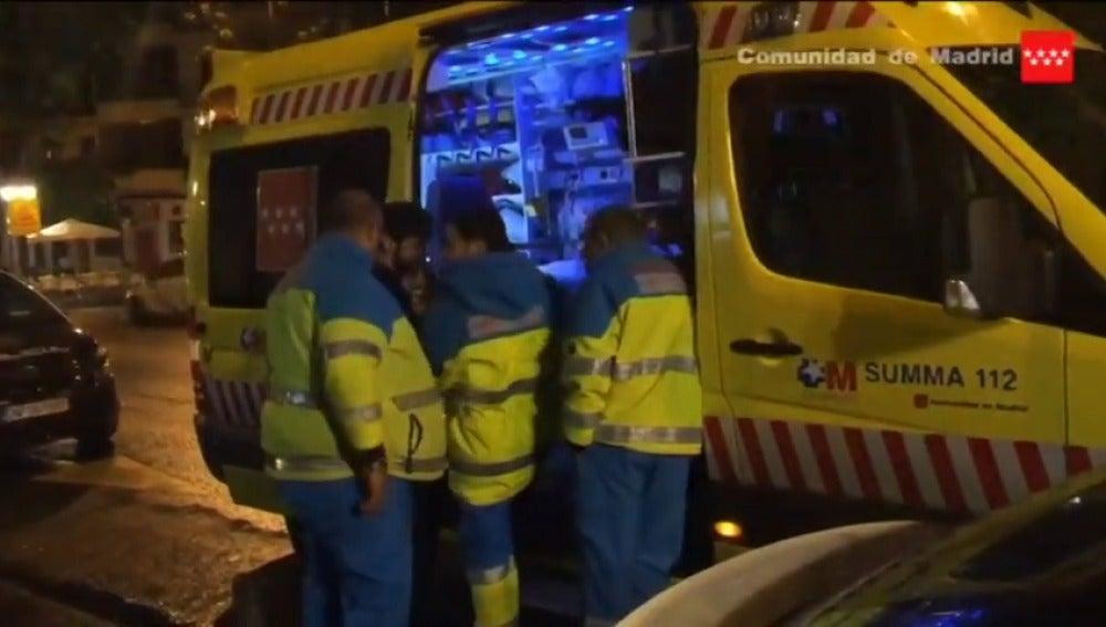 Frame 2.734179 de: Un hombre brasileño muere degollado en un piso de Madrid