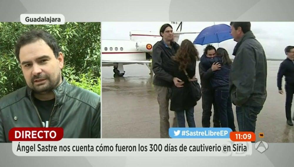 """Frame 1237.194625 de: Ángel Sastre: """"Por ningún relato o crónica merece la pena el sufrimiento que hemos hecho pasar a la gente"""""""