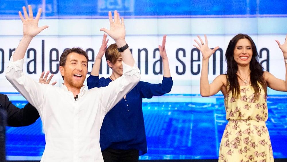 Así baila Pilar Rubio 'La gozadera' utilizando lenguaje de signos