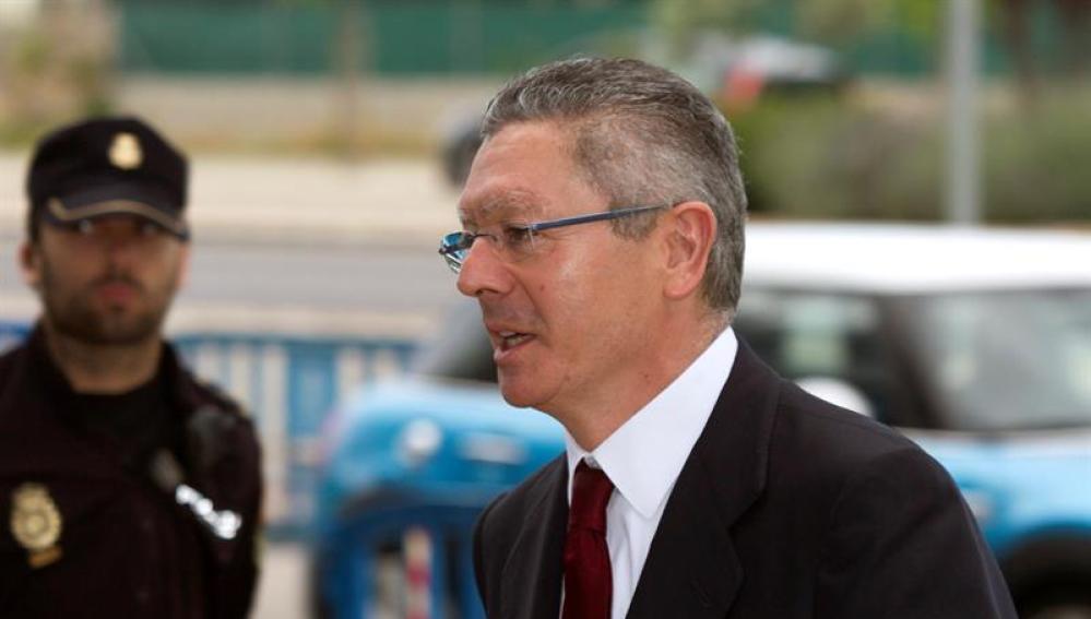 Gallardón declara como testigo en el juicio por el Caso Nóos