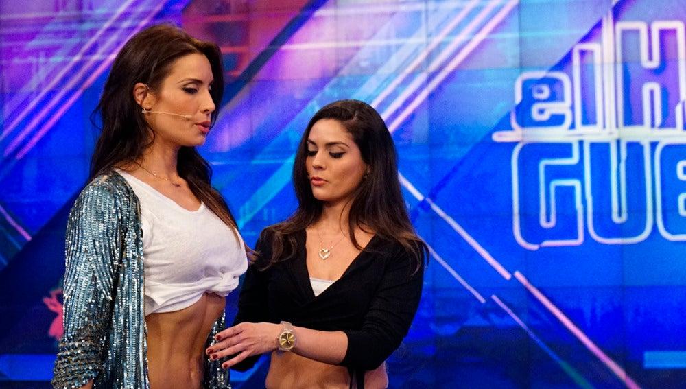 Pilar Rubio nos enseña a hacer abdominales hipopresivos