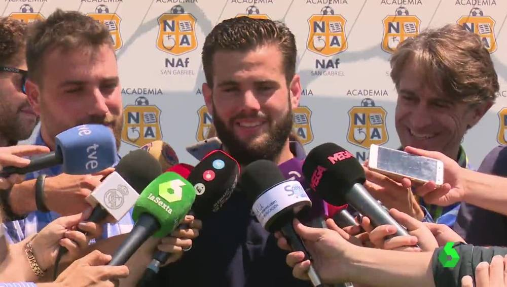 Nacho Fernández, defensa del Real Madrid
