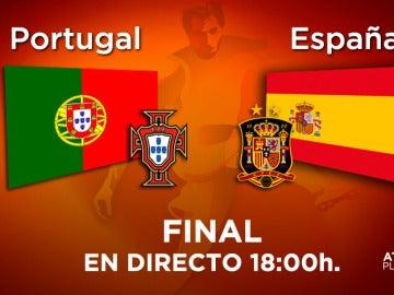 La final del Europeo sub-17, Portugal - España, se juega en laSexta y Atresplayer